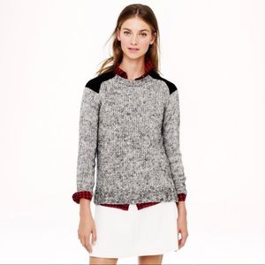 J. Crew thick wool pullover